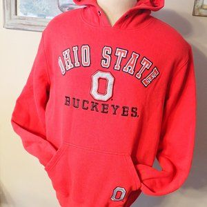 Cover One Ohio State Buckeyes Embroidered Hoodie
